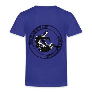 tomoe-nage cercle dos - T-shirt Premium Enfant