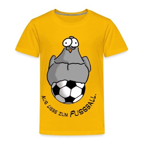 Fussballliebe Kindershirt - Kinder Premium T-Shirt