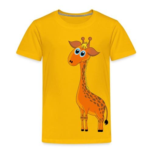 Baby Giraffe - Kinder Premium T-Shirt