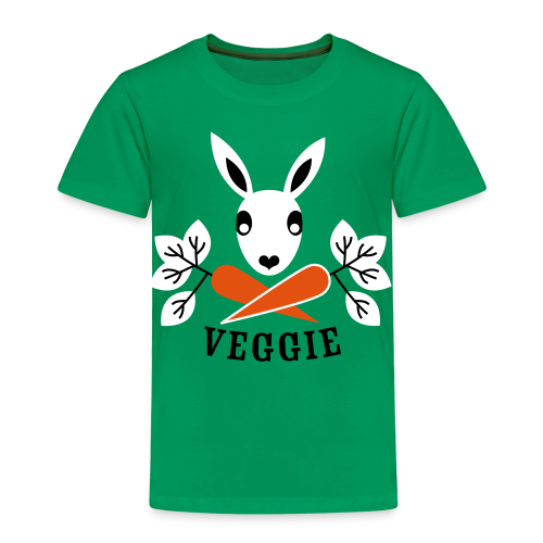 kinder, t-shirt, der veggiehase - Kinder Premium T-Shirt