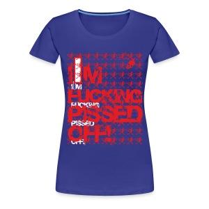 T-Shirt Norris Terrify - Pissed Off - Frauen Premium T-Shirt