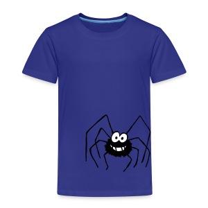 Sandro die säuselnde Spinne - Kinder Premium T-Shirt