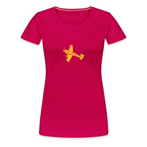 Flugzeug Jet Airplane Sky Himmel Sun Sonne Sport - Frauen Premium T-Shirt