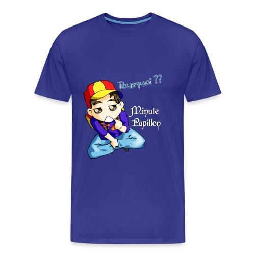 Mini-Kriss - Pourquoi - T-shirt Premium Homme