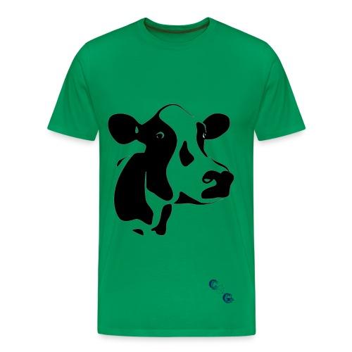 Mens Cow T-Shirt - Men's Premium T-Shirt