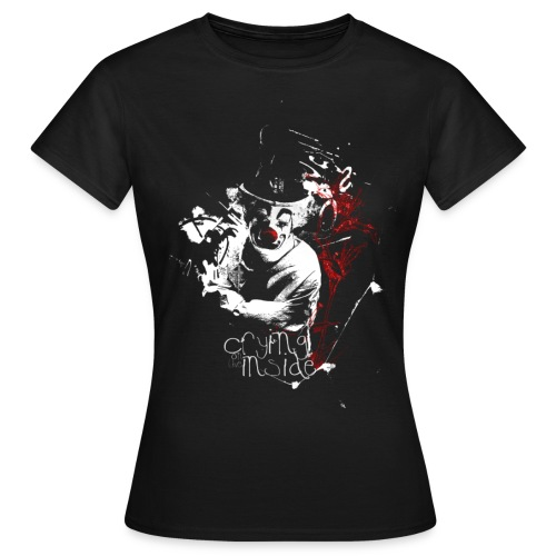 Crying on the Inside - Women's T-Shirt