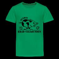 T-Shirts ~ Teenager Premium T-Shirt ~ Teenager T-Shirt - Glücksschein (schwarzer Aufdruck)