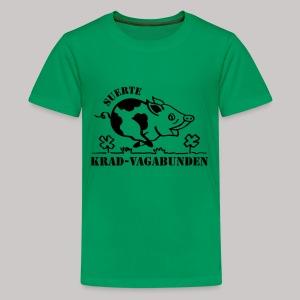 Teenager T-Shirt - Glücksschein (schwarzer Aufdruck) - Teenager Premium T-Shirt