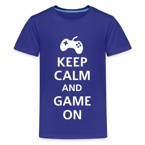 Game on Geeks - Teenage Premium T-Shirt