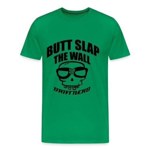 Butt Slap (Kun svart) - Premium T-skjorte for menn
