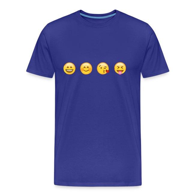 CasodesignWhatsapp Premium Smile Maglietta Da Uomo UVpSzM