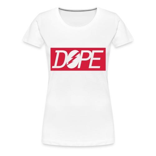 DOPE T-SHIRT GIRLS - Vrouwen Premium T-shirt