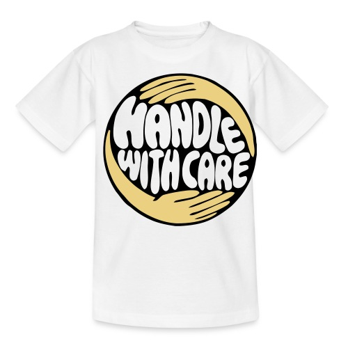 Handle With Care - T-skjorte for tenåringer