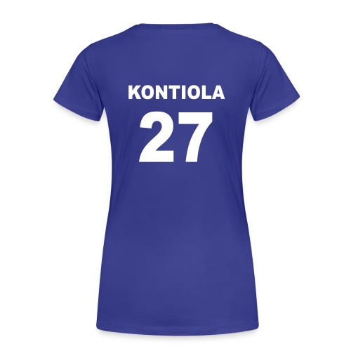 Petri Kontiola 27 naisten t-paita - Naisten premium t-paita