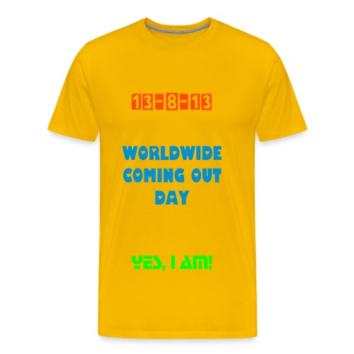 Worldwide Coming Out Day T-Shirt for Woman - Men's Premium T-Shirt