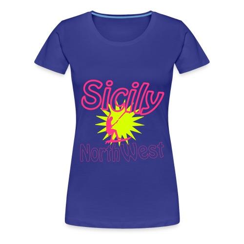 kite sicilia - Maglietta Premium da donna
