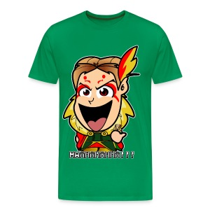 Chibi Kefka - FF6 (Male) - Men's Premium T-Shirt