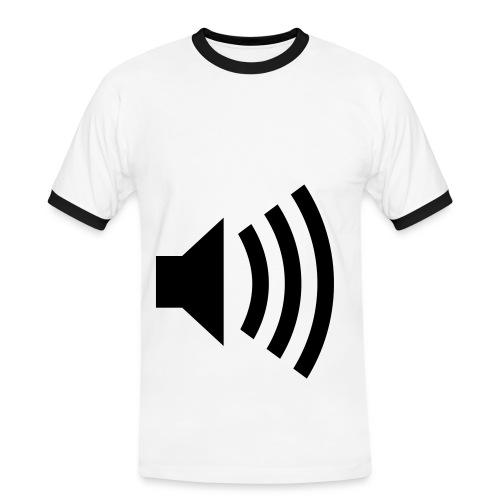 Sound - Camiseta contraste hombre