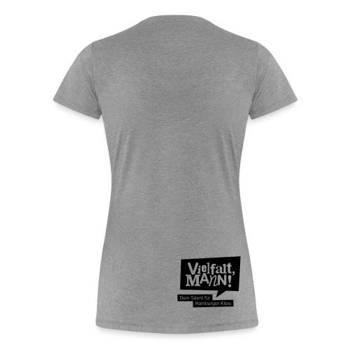 Frauen-Standard Motiv Beatboxer - Frauen Premium T-Shirt