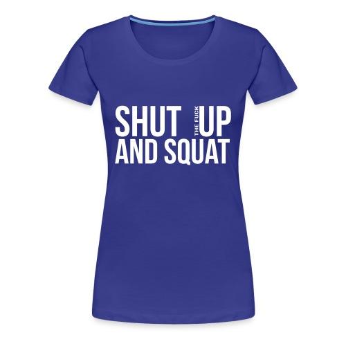 Squat top - Premium-T-shirt dam