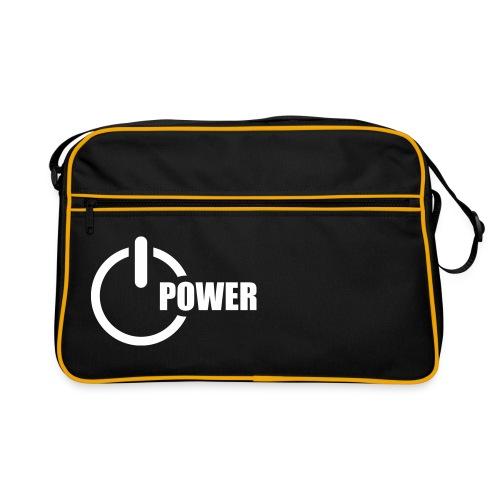 Retro Bag - Power (WHITE) - Sac Retro