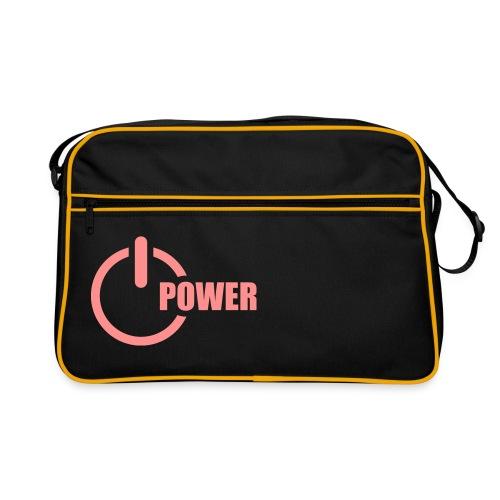 Retro Bag - Power (PINK) - Sac Retro