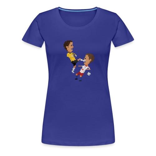 Women T-Shirt - Kungfu goalkeeper from Bremen - Women's Premium T-Shirt