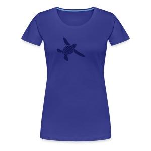 Leatherback Seaturtle Hatchling - Women's Premium T-Shirt