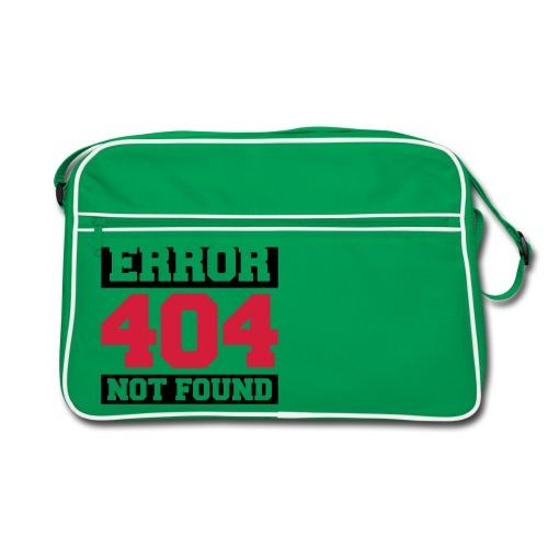 Retro Bag - ERROR 404 NOT FOUND - Sac Retro