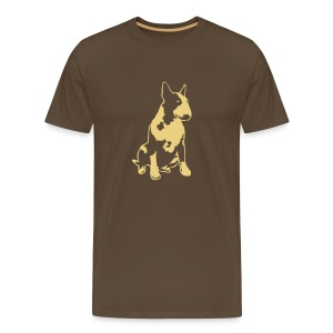 Bull Terrier 2013 1c 4dark - Men's Premium T-Shirt