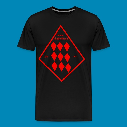 diabohlisch.de.vu - Männer Premium T-Shirt