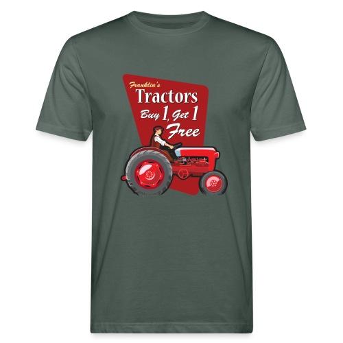 Franklin's Tractors Grey - Men's Organic T-shirt