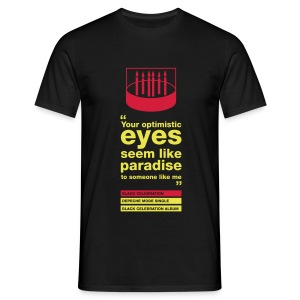 Optimistic eyes Homme - T-shirt Homme