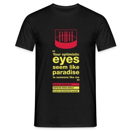 Optimistic eyes Homme - T-shirt Homme