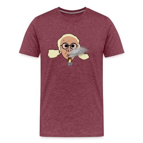 Storrökande Kerstin - Premium-T-shirt herr