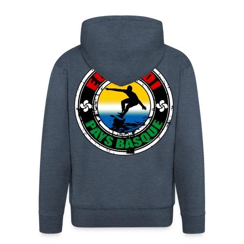 Pays Basque surfing team - Men's Premium Hooded Jacket