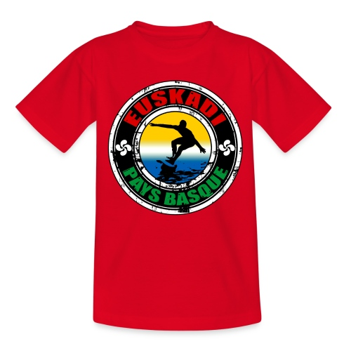 Pays Basque surfing team - Teenage T-Shirt