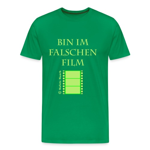 im falschen Film T-Shirt moosgrün - Männer Premium T-Shirt
