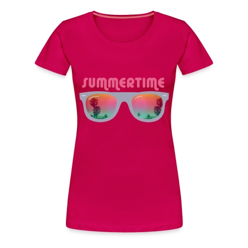 sunglasses - Vrouwen Premium T-shirt