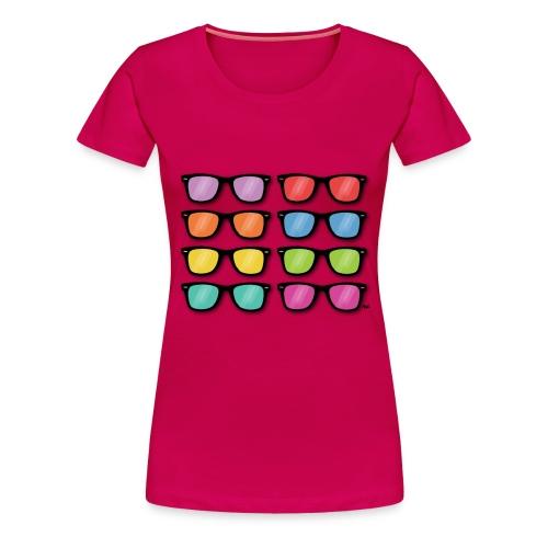 sunglasses 2 - Vrouwen Premium T-shirt