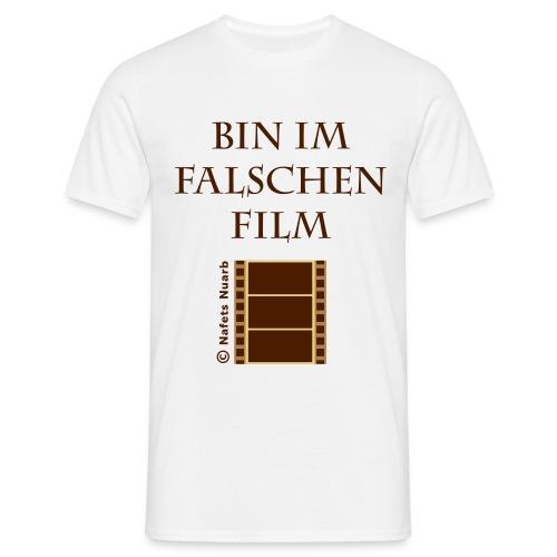 im falschen Film T-Shirt beige - Männer T-Shirt