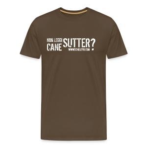 Sutter Cane (uomo) - Maglietta Premium da uomo