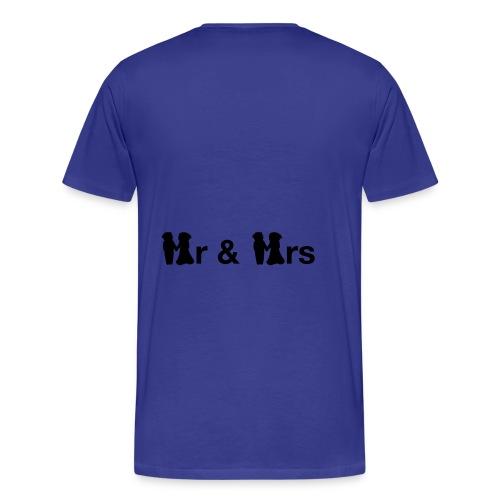Hr & Hrs shirt - Mannen Premium T-shirt