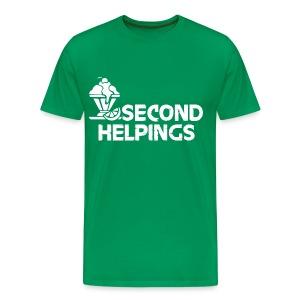 Second Helpings - Men's Premium T-Shirt