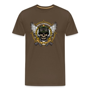[Bad Company] marron - Men's Premium T-Shirt
