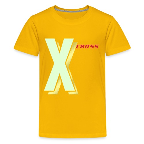 X - CROSS - Teenager Premium T-Shirt