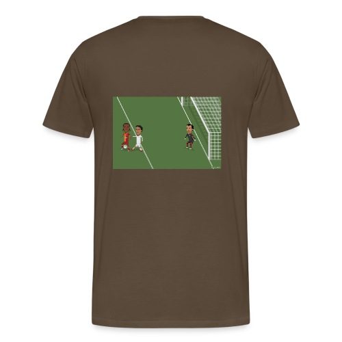Men T-Shirt - Backheel goal BG - Men's Premium T-Shirt