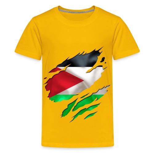 Fussball 3 - Teenager Premium T-Shirt