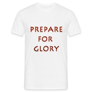Prepare for glory - Spartan warrior - Men's T-Shirt