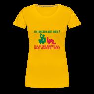 Tee shirts ~ T-shirt Premium Femme ~ Un breton boit bien...